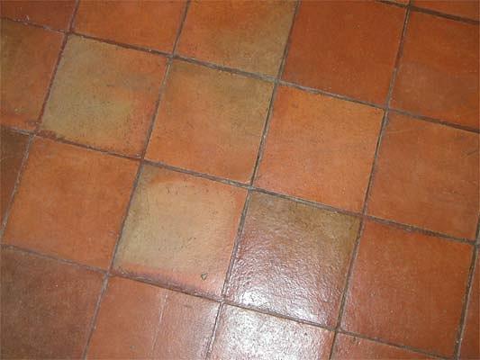 Carrelage argile for Carrelage sol terre cuite