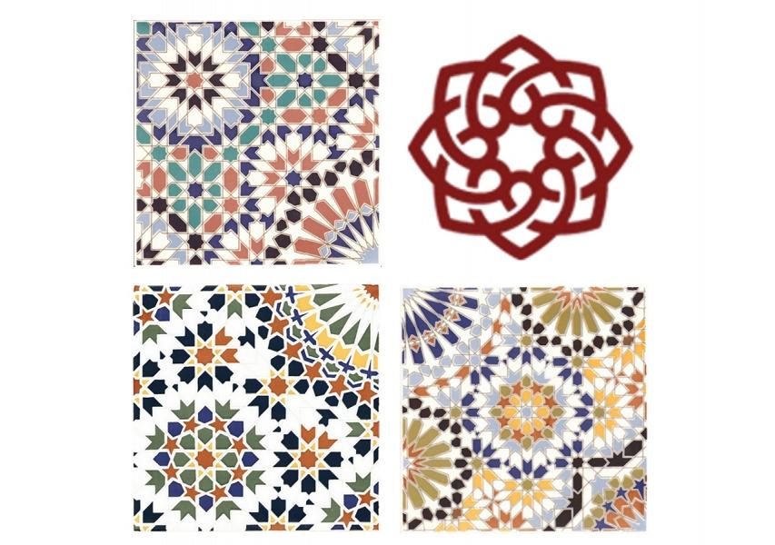 Carreaux de c ramique orientale du maroc for Petit carreaux faience
